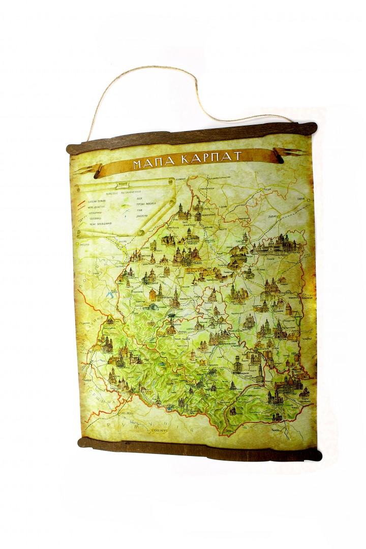 Мапа Карпат