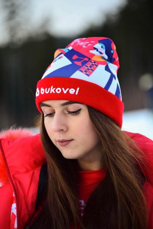 Шапка бренд Bukovel