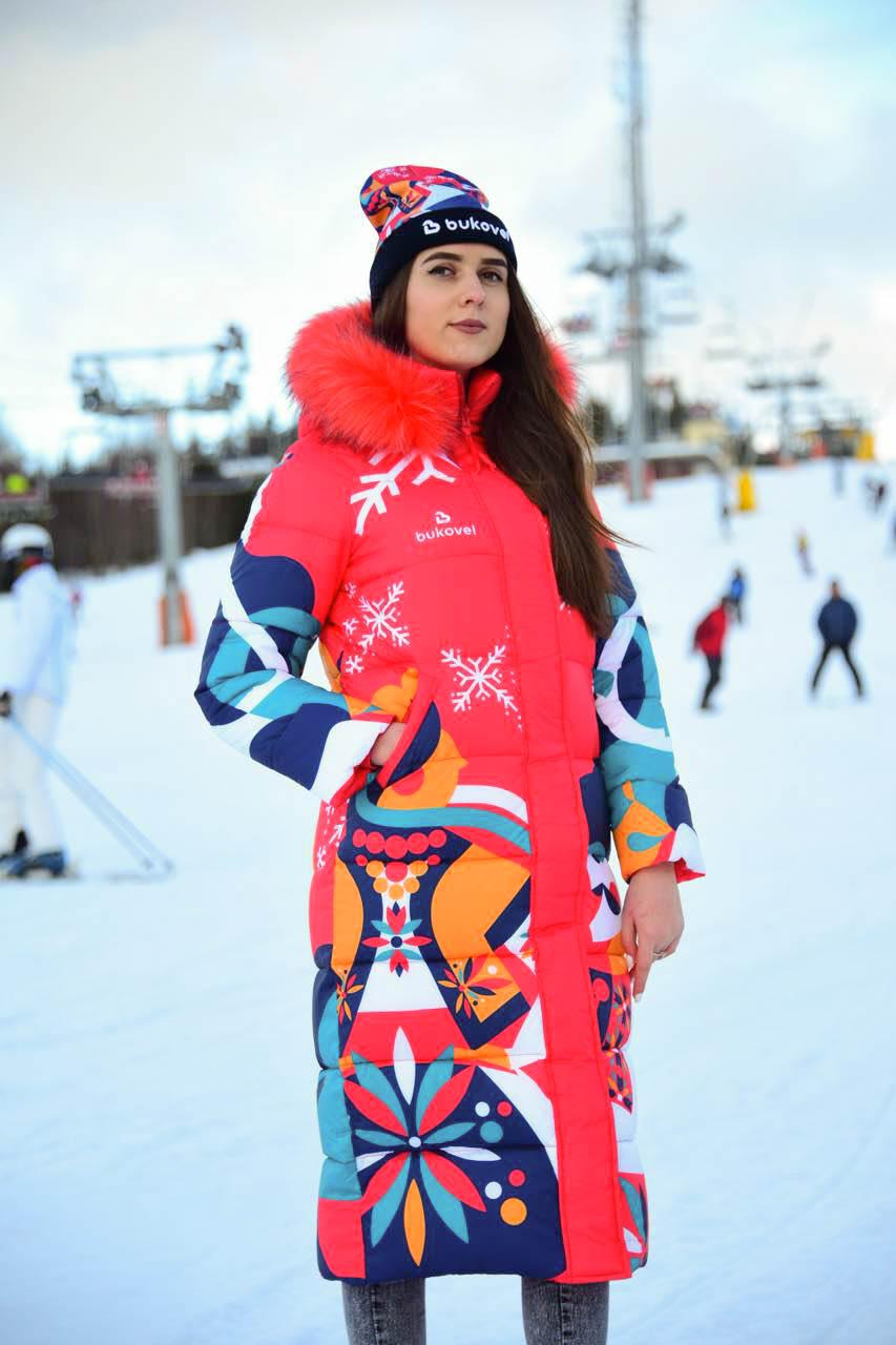 Пальто зимове Буковель